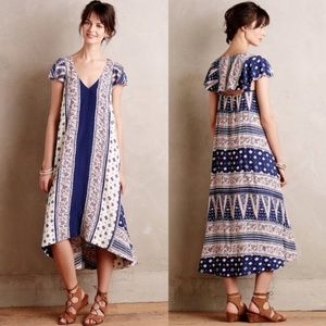NWOT Anthropologie Maeve Swingtide Summer Dress